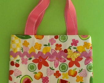 Colorful Fruit - Girl's Purse