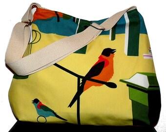 GOTHENBURG  Robin  Green Birdy  Everyday Purse w\/Adjustable  Strap