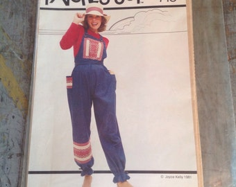 Vintage Patches of Joy Kelly Overalls 710