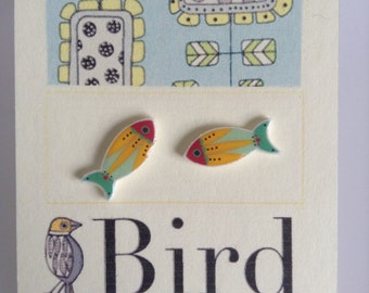 Quirky Fish Earrings