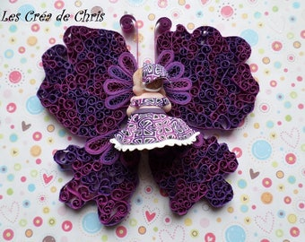 support for baby or quilling reception centrepiece.