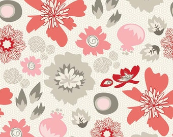Lost and Found 2 Cotton Fabric by the Yard or Half Yard Fabric, or fat quarter  Quilt Fabric, Floral Fabric,  Quilting Fabric