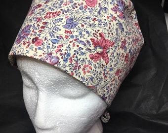 Floral block Cap