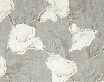 Calla Dove, Magnolia Home Fashions - Cotton Upholstery Fabric By The Yard