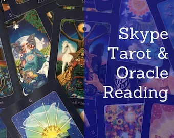 Skype Tarot and Oracle Reading Session