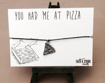 Pizza friendship bracelet Pizza Lover Pizza Friendship Bracelet