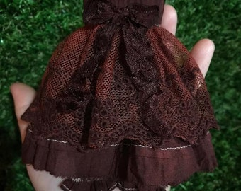 Lace dress with bloomer set for Blythe
