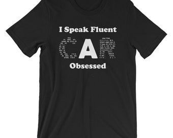 Car guy gift, car guy shirt, Father's Day Gift, Fluent Car Obsessed, funny shirts, gift for him, and her, hilarious tees
