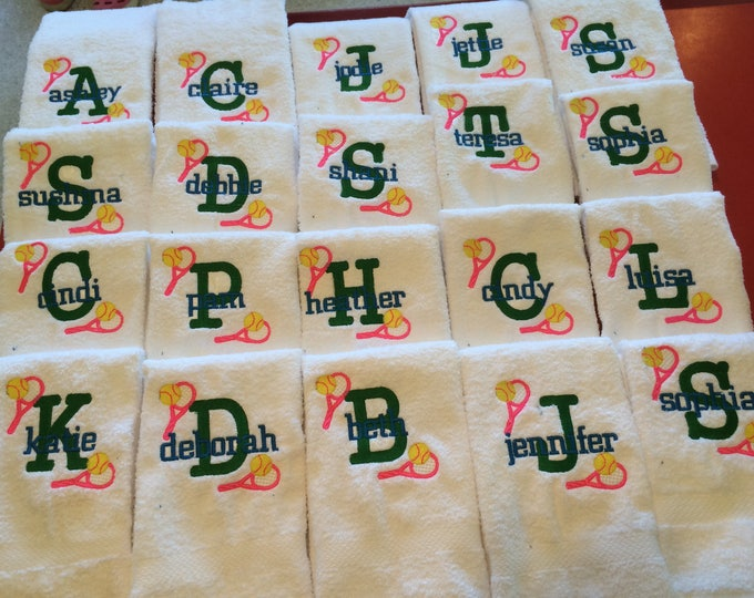 Beach Towels, Hand towel, Small hand towel,  Sport Towels, Embroidered towel, Golf, Swimming, Basketball, Softball, Baseball, Volleyball,