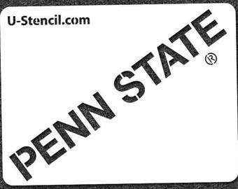 "Penn State ""PENN STATE"" – Mini Stencil"