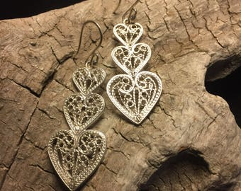 Pure Love Earrings Silver