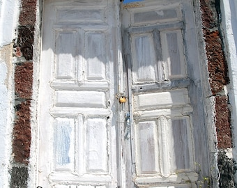 """Doors Photography """"Santorini, Greece Door to Nowhere"""""""