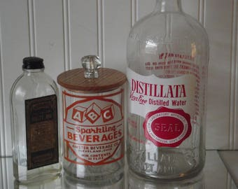 Vintage Cleveland Ohio bottles, and memories from the 1950's