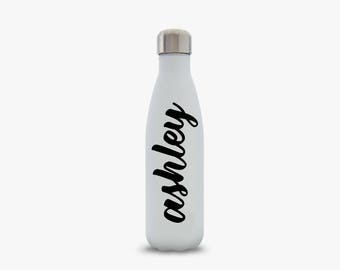 Swell Bottle Custom Name Decal