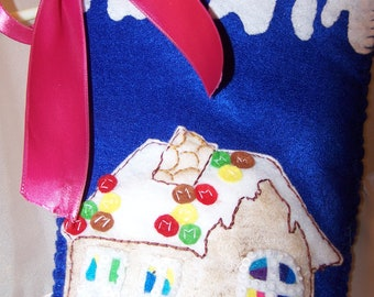 Gingerbread Christmas Stocking