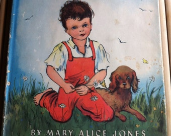 1951 Tell Me About God childrens book hardcover