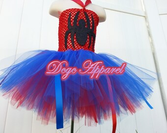 Spiderman inspired Spider Girl Tutu (Kids 2t, 3t, 4t)