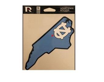 North Carolina Tar Heels NCAA Home State Sticker