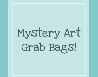 Mystery Art Grab Bags, originals, sketches and more!