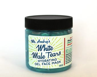 White Male Tears Hydrating Face Mask