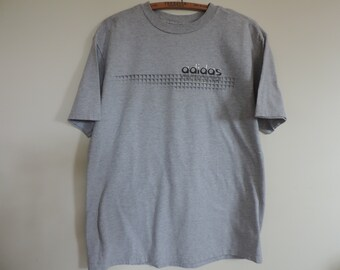 ADIDAS T Shirt Cotton Tee Shirt  Adidas Sportswear Track and Field size L