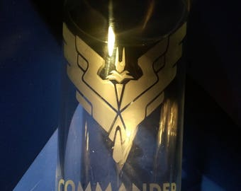 Elite Dangerous - Etched pint glass