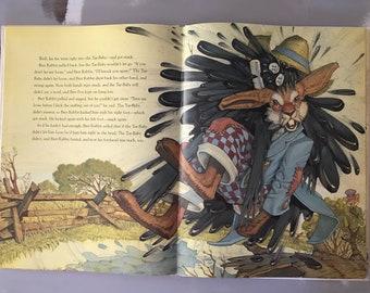 Book - Brer Rabbit - Classic Living Book - Vintage Children's Book