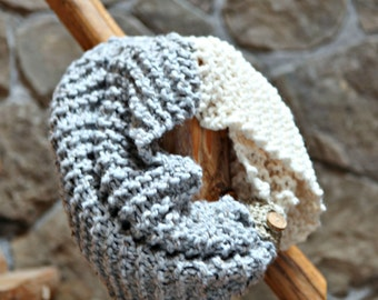 Infinity Cowl Knitting Pattern THE MANCHESTER