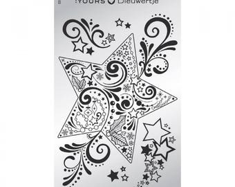 Stamping plate Holidays - Dieuwertje Timmer