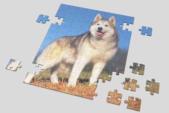 """Custom 48 or 80piece Photo Puzzle , Print Logo , Picture or Any Design 8""""X10"""" Customized jigsaw puzzle Personalized puzzle"""