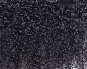 Clip-In Extensions (All Natural Textures) Natural Hair, Afro Hair, Weave, Extensions, Human Hair Extensions