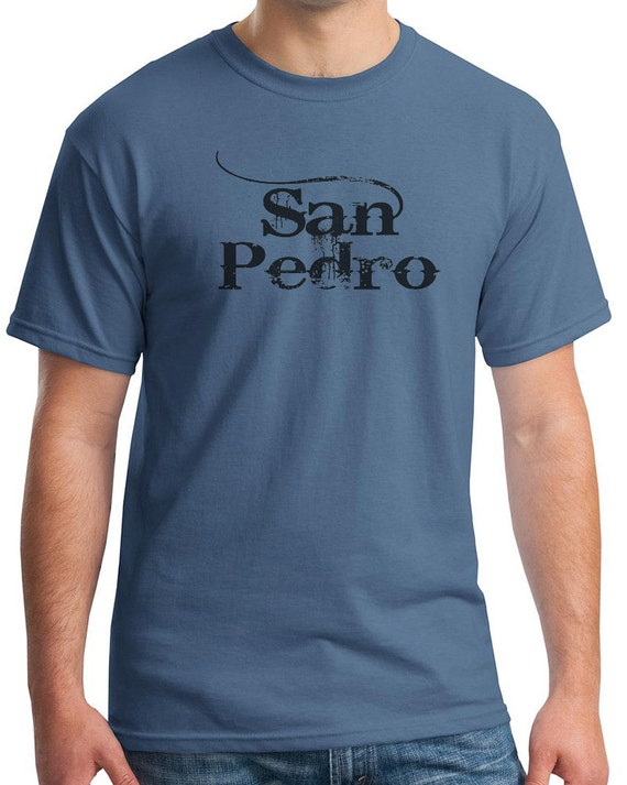 San Pedro Mens t-shirt available in colors too (BC)