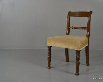Victorian Single Rope Twist Chair