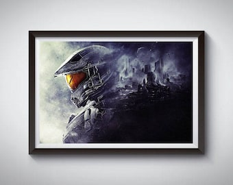 Video Game Poster, Art Print, Video Game Wall Decor 3