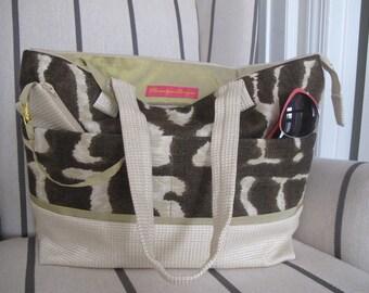 Tote bag,Beach bag,Personalized tote bag,Travel tote bag,Work tote bag