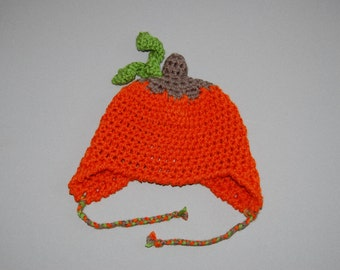 Little Pumpkin crochet hat
