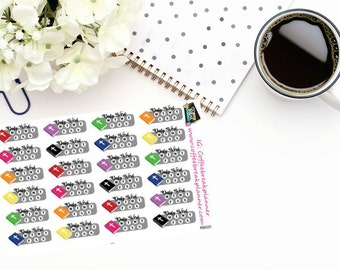 Planner Stickers |Bible Reading Tracking Stickers|Bible Study Tracking Stickers| Scripture Study Stickers| RB020