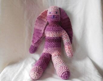 Crochet Pattern PDF - Crocheted Toy Bunny