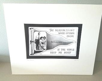 Jamestown,  Rhode Island silver gelatin print