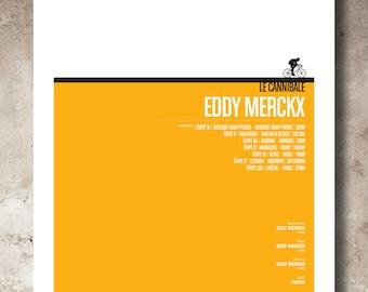 1969 Tour de France Eddy Merckx_A3 print