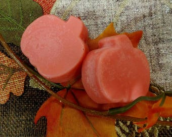 Pumpkin Soy Wax Melts ready to ship in Pumpkin Souffle scent- Over 70 Other Scents to Choose From
