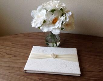 Elegant Wedding Guest Book