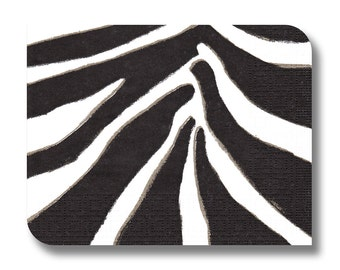 Paper napkin for decoupage, mixed media, collage, scrapbooking x 1. Bold Zebra. No 1235