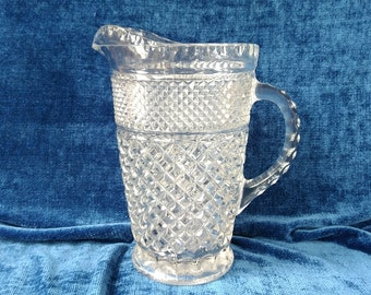 Wexford Pitcher Anchor Hocking Glass Pitcher 64 Ounces