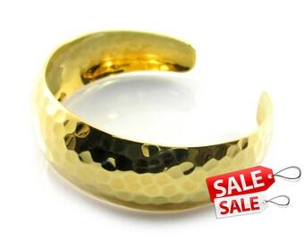 Gold Cuff Bracelet Gold Bracelet Cuff Hammered Brass Cuff Bracelet Brass Bracelet Cuff Wide Cuff Bracelet Gold Hammered Bracelet Cuff 043