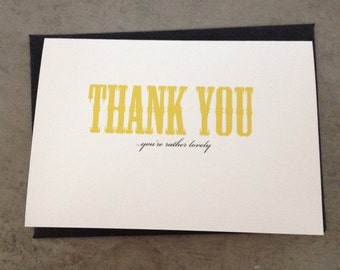 Thank you  - you're rather lovely. Set of 6 cards