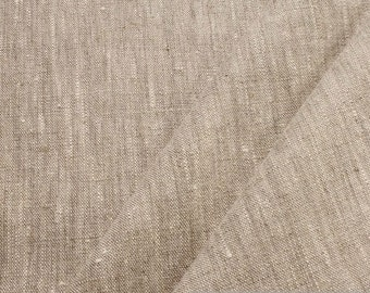fabric pure linen sand beige nature