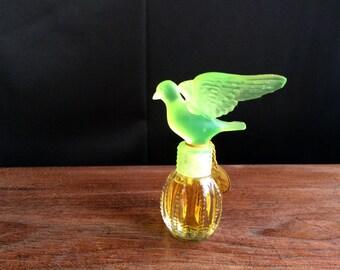 Vintage Royal Dove Perfume Bottle Collectible Vintage Perfume Delagar Perfume Ladies Vanity