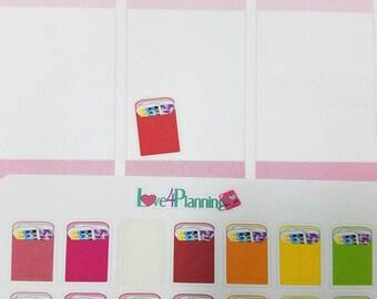 Happy Mail Planner Stickers for Erin Condren, Happy Planner & more
