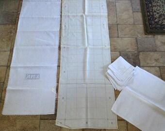 Vintage Doilies 9 PC Lot Vintage Linen Napkins & Doilies   #4